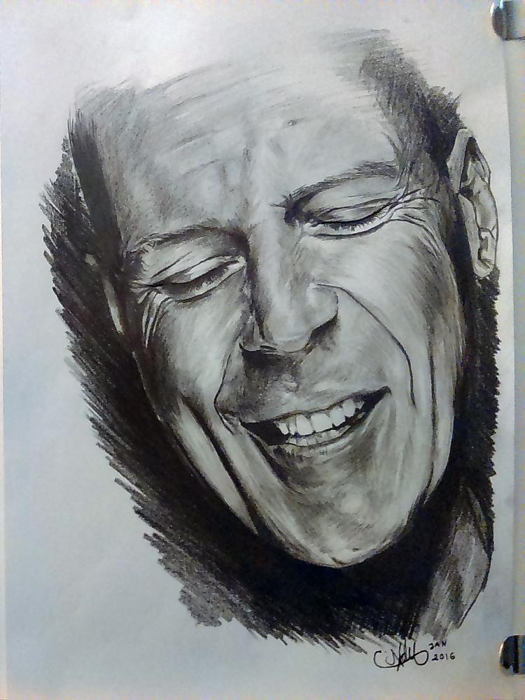 Bruce Willis par AdN